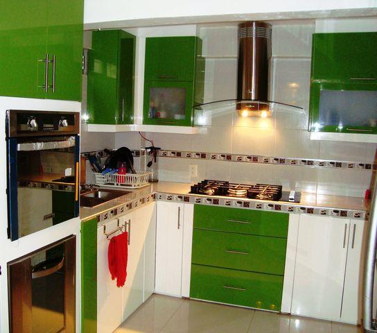 cocinas en dos colores